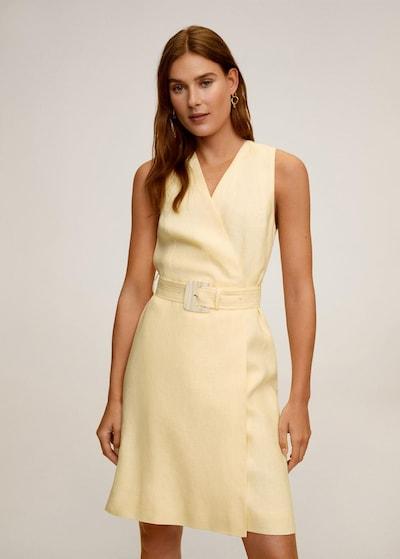 MANGO Kleid 'Boreli' in gelb, Modelansicht