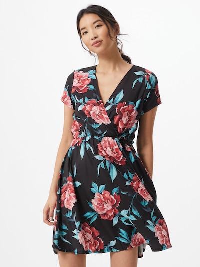 Hailys Letní šaty 'Sina' - modrá / růžová / černá, Model/ka