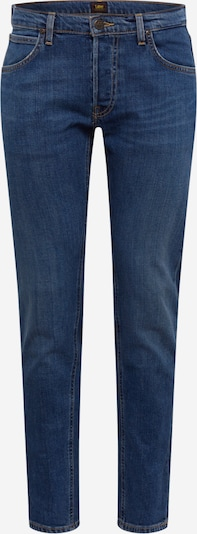 Lee Jean 'Daren Button Fly' en bleu denim, Vue avec produit