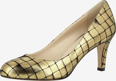 EVITA Pumps 'BIANCA' in gold / schwarz, Produktansicht