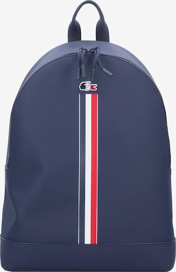 LACOSTE Rucksack in blau / rot / weiß, Produktansicht