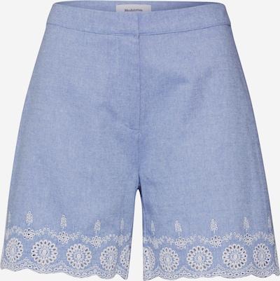 modström Shorts 'Craig' in hellblau / weiß, Produktansicht