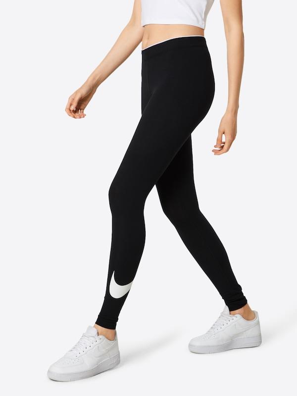 Sportswear Leggings Nike ZwartWit In PkuOZXi