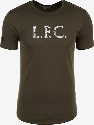 new balance Shirt 'FC Liverpool Stacked' in khaki, Produktansicht