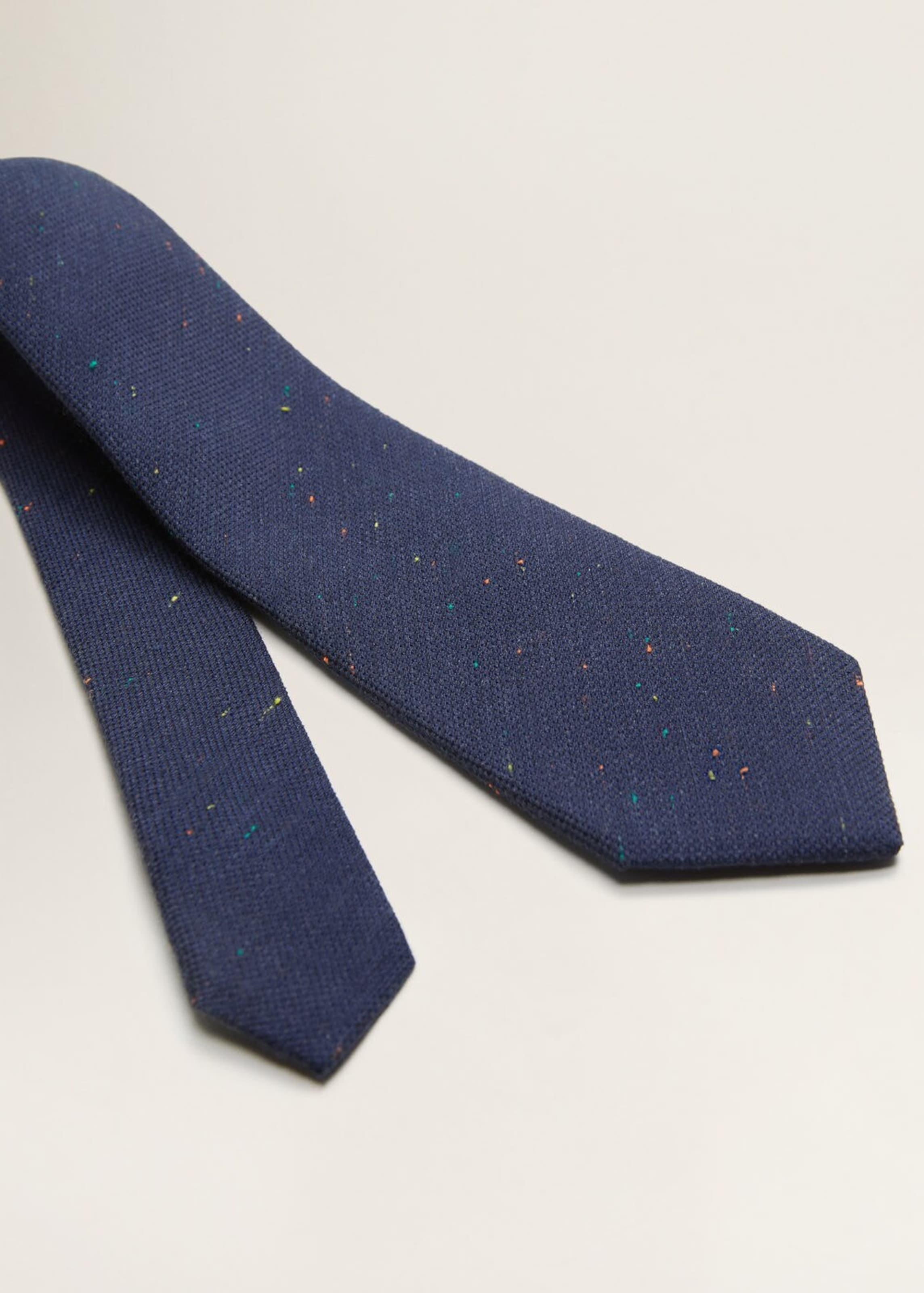 P Neps Mango Man Krawatte c In Navy sQrdCxBth