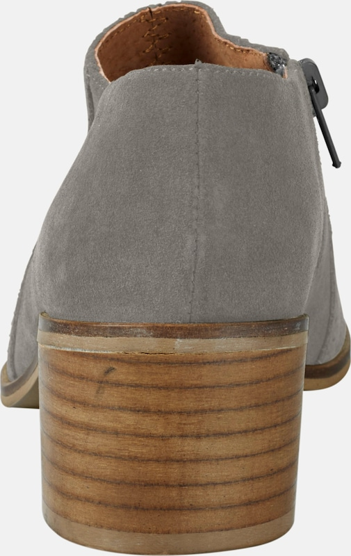 heine Stiefelette aus Veloursleder