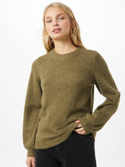 OBJECT Pullover in grün: Frontalansicht