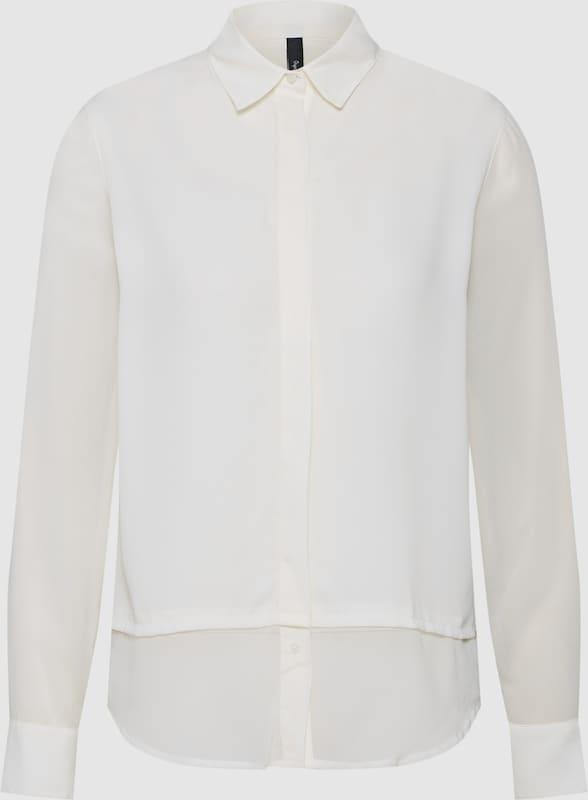 Pepe Jeans Blause 'MIEKE' in weiß  Freizeit, schlank, schlank