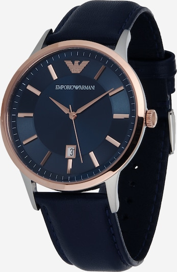 Emporio Armani Zegarek analogowy w kolorze czarnym, Podgląd produktu