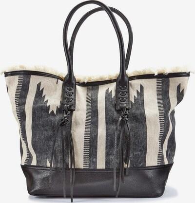 LASCANA Strandtasche in beige / schwarz, Produktansicht