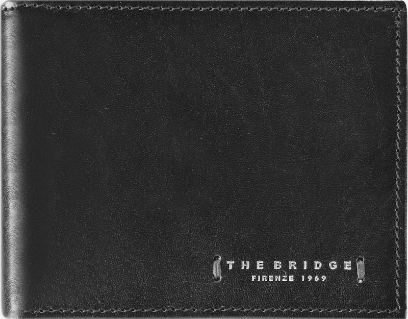 The Bridge Passpartout Uomo Geldbörse Leder 11 cm