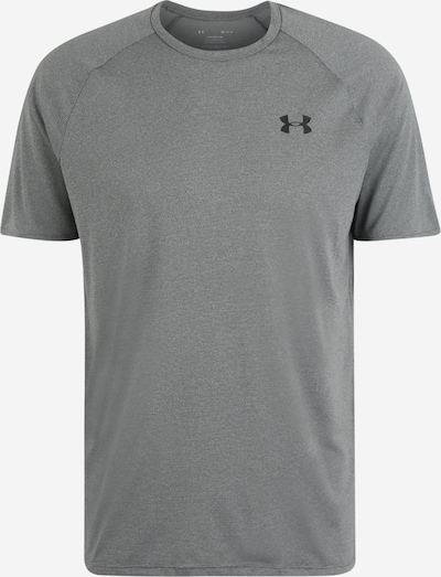 UNDER ARMOUR T-Shirt  'UA Tech 2.0 SS Tee Novelty' in grau / schwarz, Produktansicht