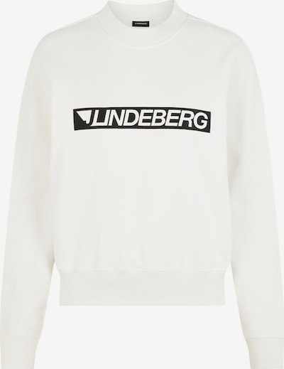 J.Lindeberg Sweatshirt 'Theresa' in de kleur Zwart / Wit, Productweergave
