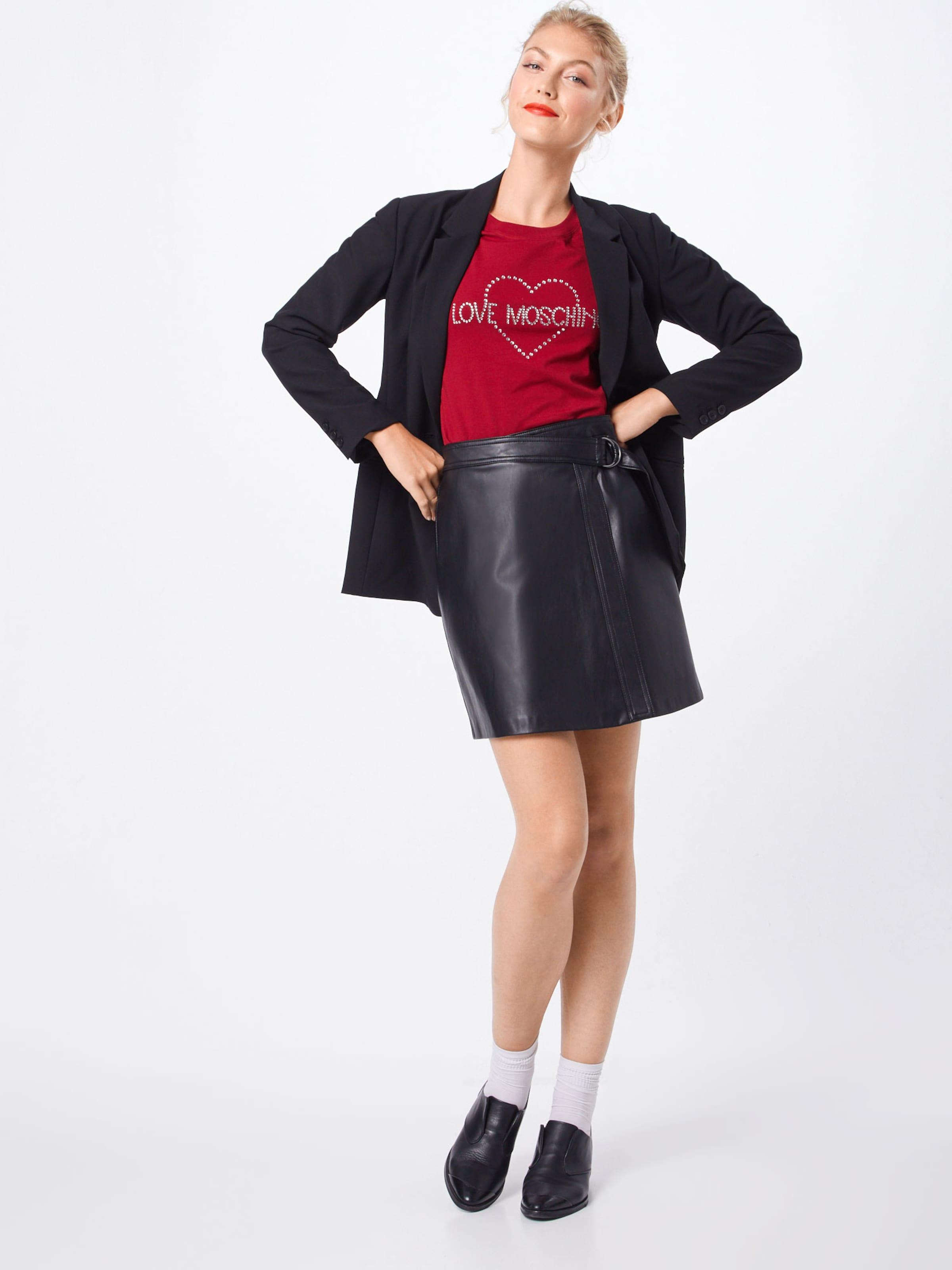Love Moschino Shirt In Rot 'maglietta' drCxBtohsQ