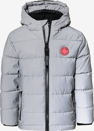 STACCATO Winterjacke in grau / rot, Produktansicht