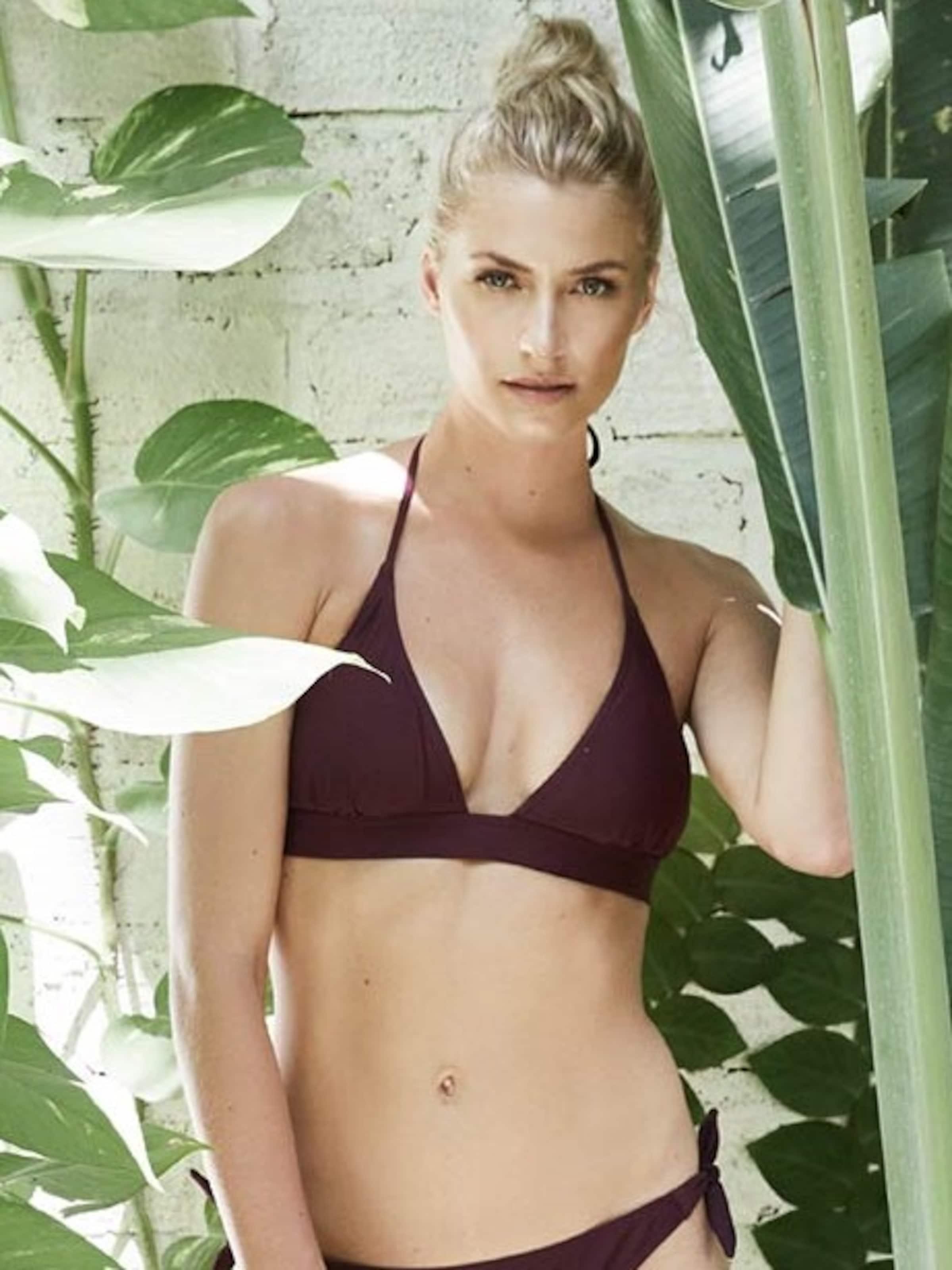 By Leger De Bikini 'tanja' En Bordeaux Lena Gercke Hauts kuPXZi