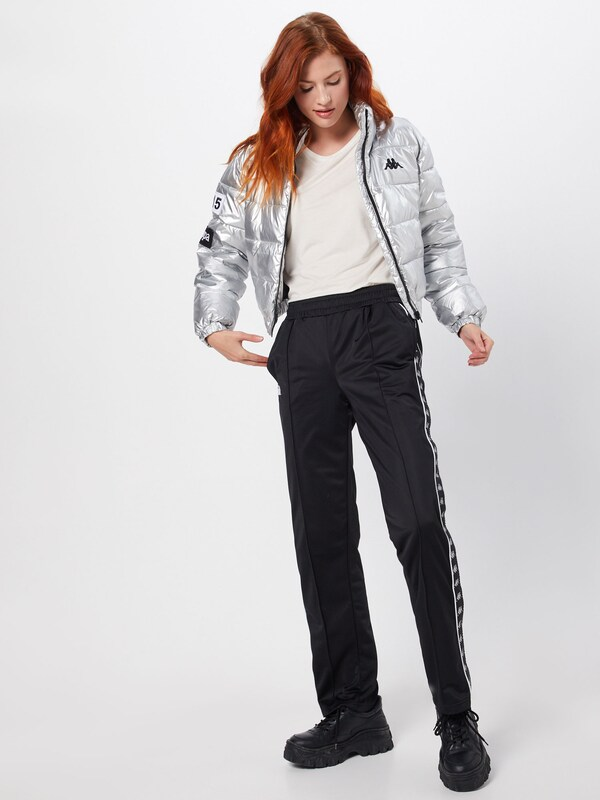KAPPA Jacke 'Authentic LA Boltan' in silber | ABOUT YOU