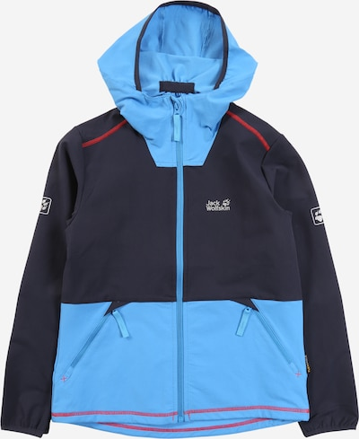 JACK WOLFSKIN Jacke in nachtblau / hellblau, Produktansicht
