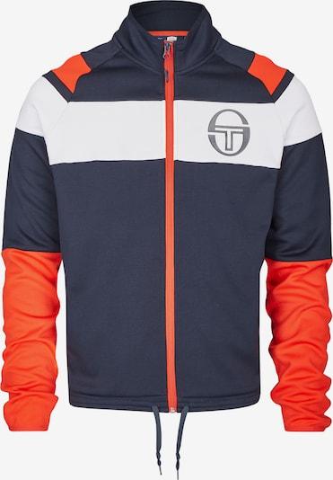 Sergio Tacchini Trainingsjacke 'Coiler' in dunkelblau / hellrot / weiß, Produktansicht