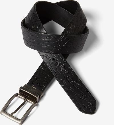 TOM TAILOR DENIM Wende-Ledergürtel in schwarz, Produktansicht