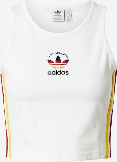 ADIDAS ORIGINALS Top - žltá / tmavočervená / čierna / biela, Produkt