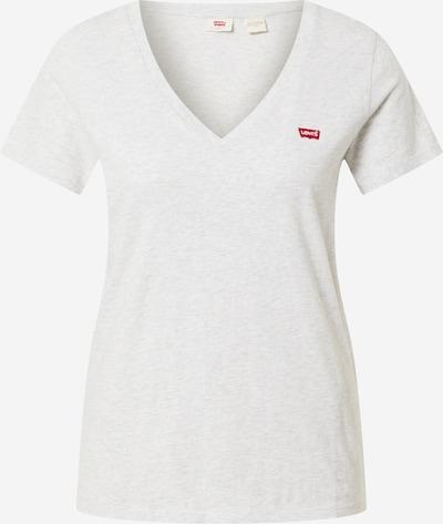 LEVI'S T-Shirt in graumeliert / rot, Produktansicht