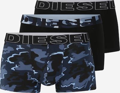 DIESEL Trunks 'DAMIEN' in blau / schwarz, Produktansicht