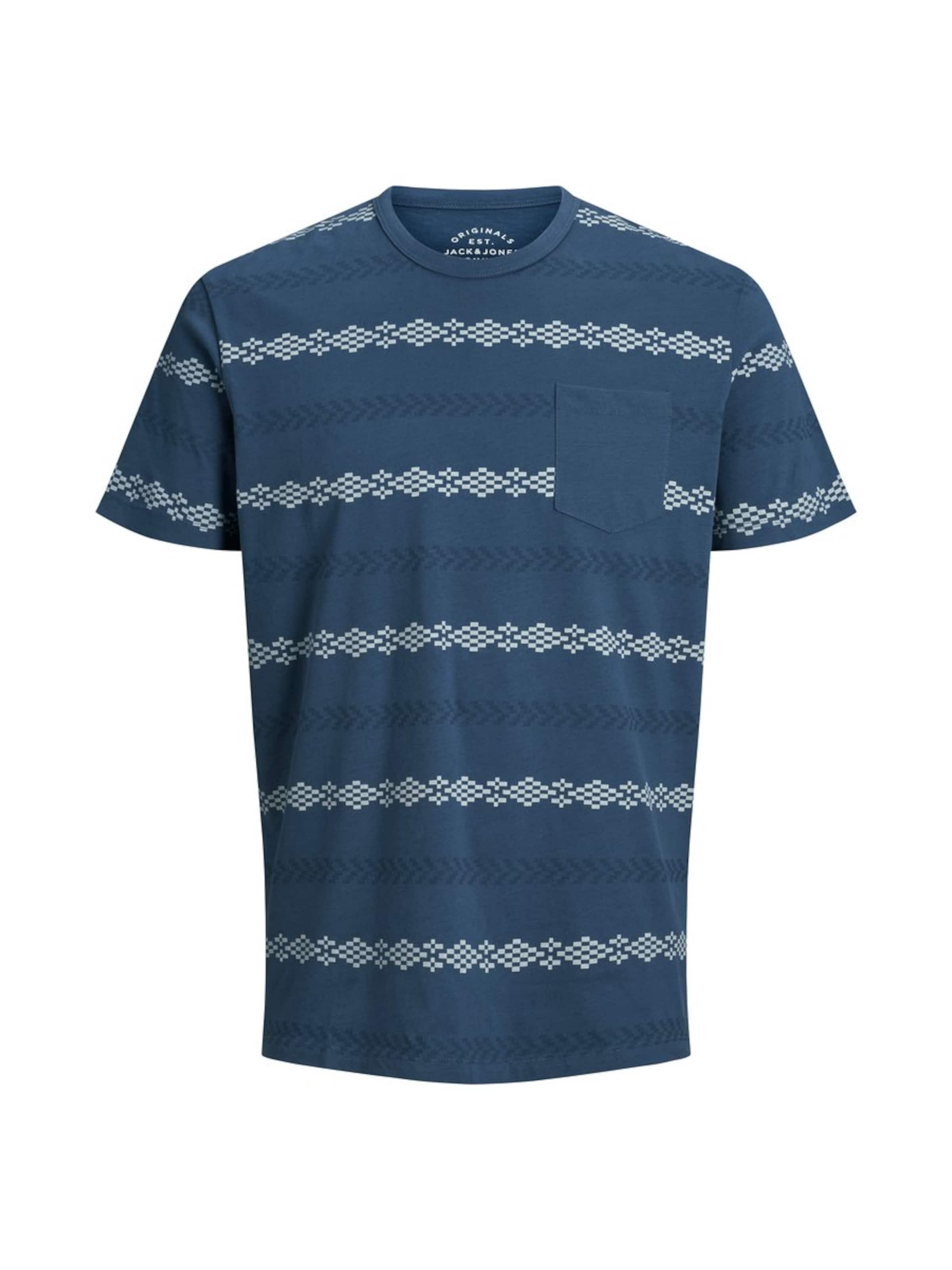 Jackamp; shirt En Jones T CrèmeBleu Ciel Pkn0wO