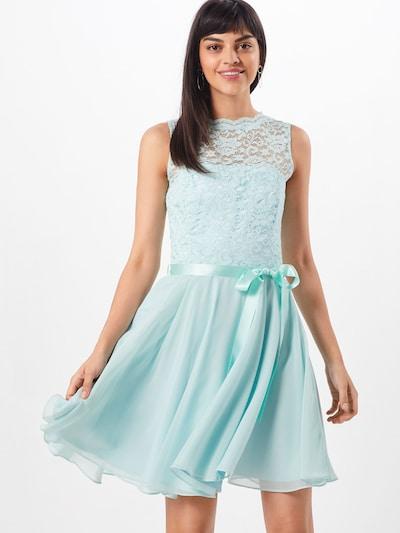 SWING Kleid aus Spitze in hellblau / mint, Modelansicht