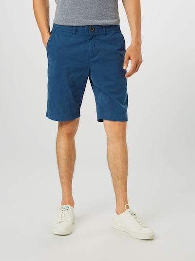Superdry Pantalon chino en bleu marine: Vue de face