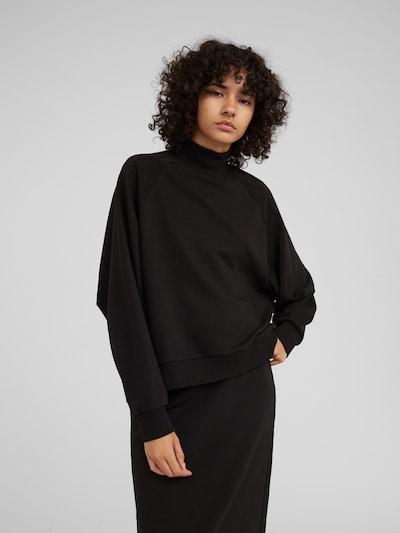 fekete EDITED Tréning póló 'Nana', Modell nézet