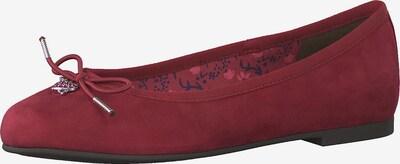 TAMARIS Ballerinas in rot, Produktansicht