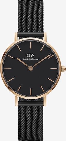 Daniel Wellington Uhr 'Classic Petite 28 Ashfield DW00100245' in rosegold / schwarz, Produktansicht