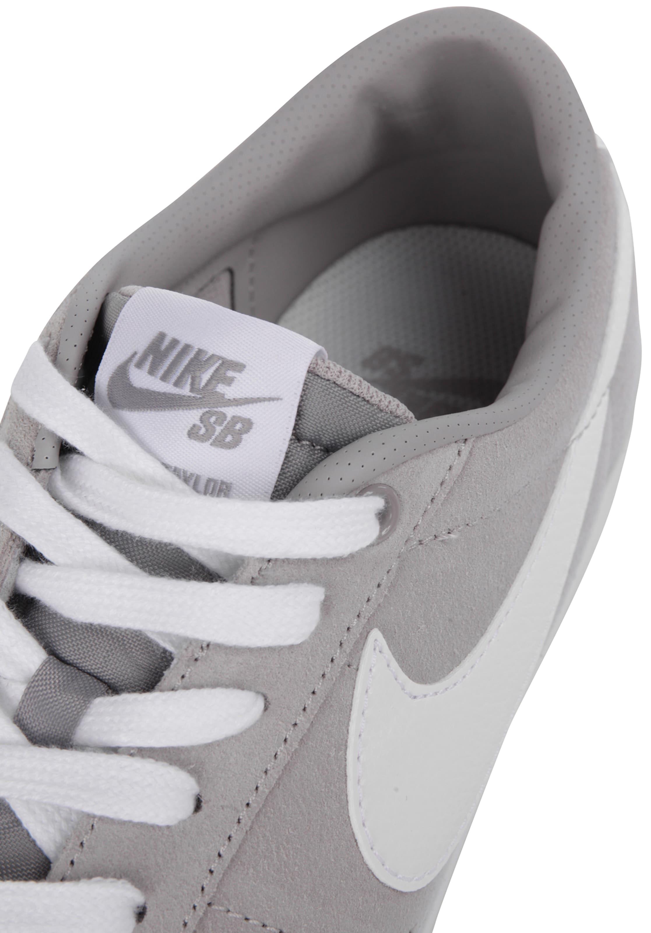 Nike Sb GrauWeiß Sneaker 'zoom Blazer' In OiZukPX