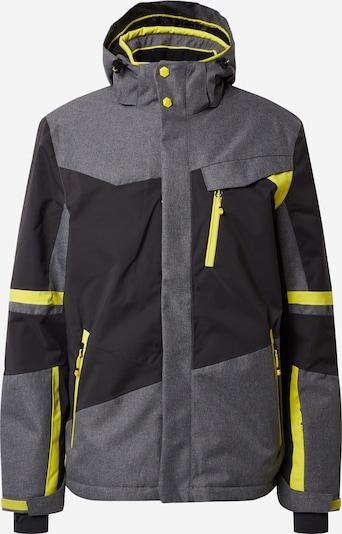 KILLTEC Zimní bunda - žlutá / antracitová / šedý melír, Produkt