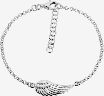 Nenalina Armband 'Flügel' in silber, Produktansicht