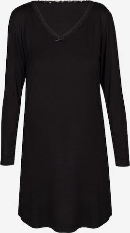 sassa Nachthemd 'CASUAL COMFORT' in Schwarz