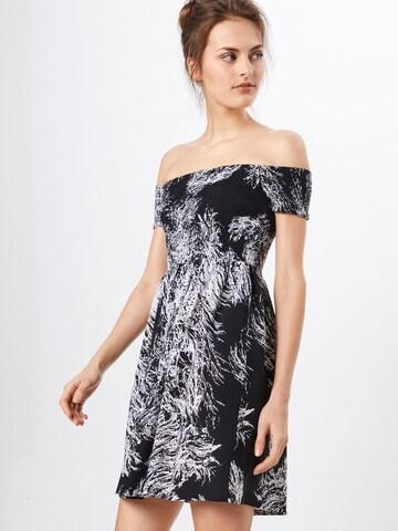 Urban Classics Letné šaty - Čierna