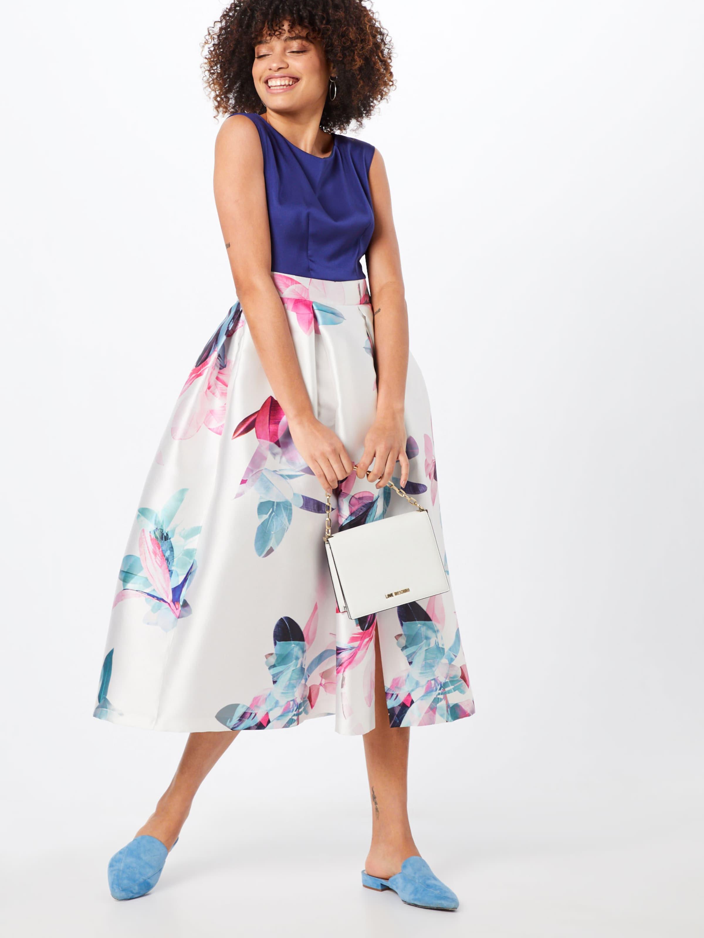 In 'gold BlauWeiß London Kleid Closet Pleated' uJ3lK1TFc