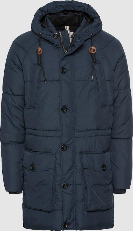 JACK & JONES Steppmantel 'JORFORTUNE PARKA JACKET' in dunkelblau  Neue Kleidung in dieser Saison