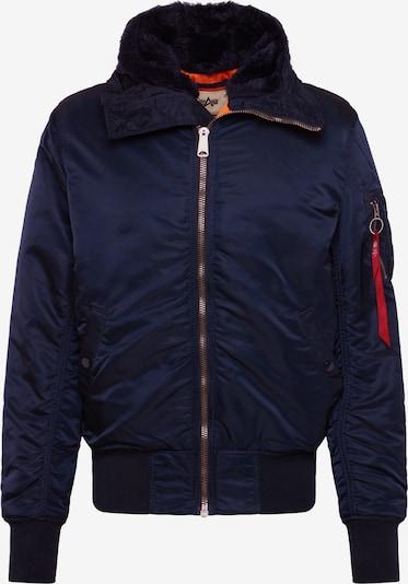 Žieminė striukė 'MA-1 HOODED' iš ALPHA INDUSTRIES , spalva - tamsiai mėlyna, Prekių apžvalga