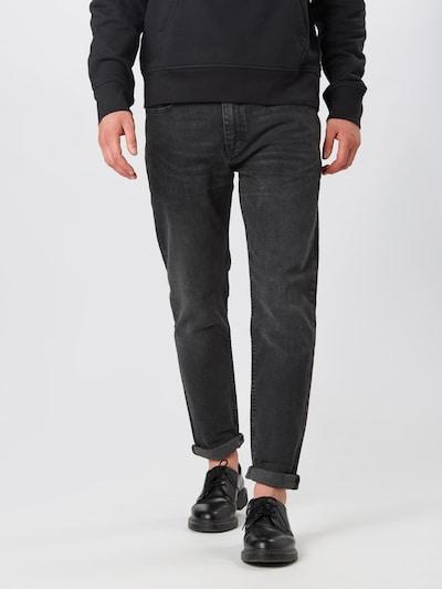 LEVI'S Jeans 'Hiballroll' in black denim, Modelansicht