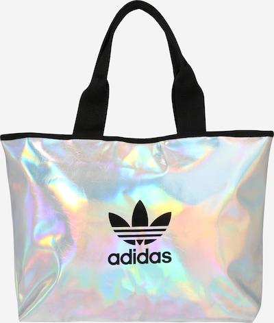 ADIDAS ORIGINALS Shopper in schwarz / silber, Produktansicht