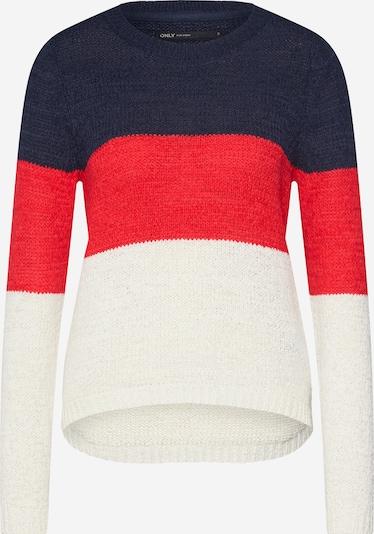Megztinis 'GEENA' iš ONLY , spalva - nakties mėlyna / raudona / balta, Prekių apžvalga