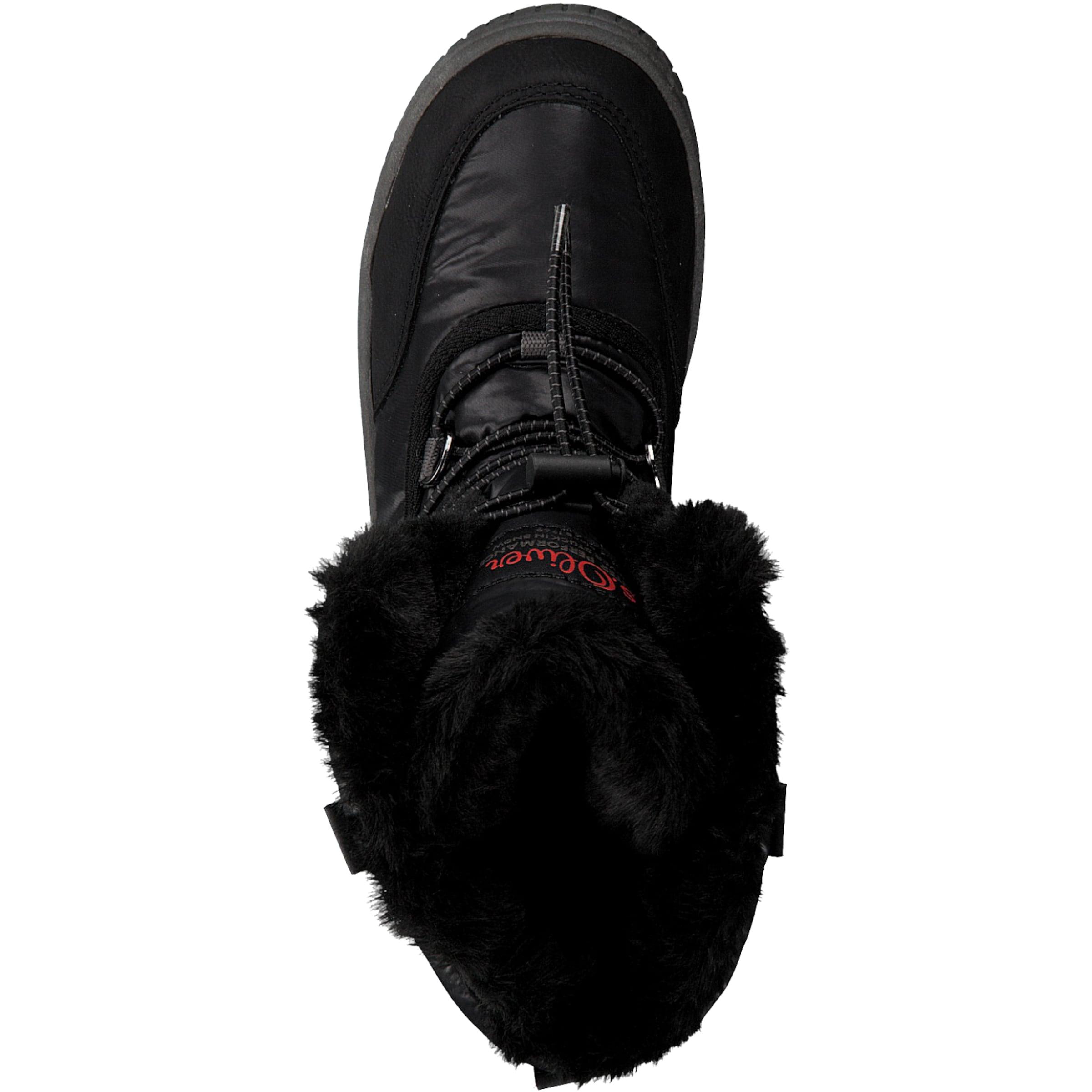 oliver Schwarz Label Red Stiefel S In rdoeBWCx