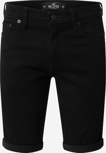 HOLLISTER Jeansshorts in black denim, Produktansicht