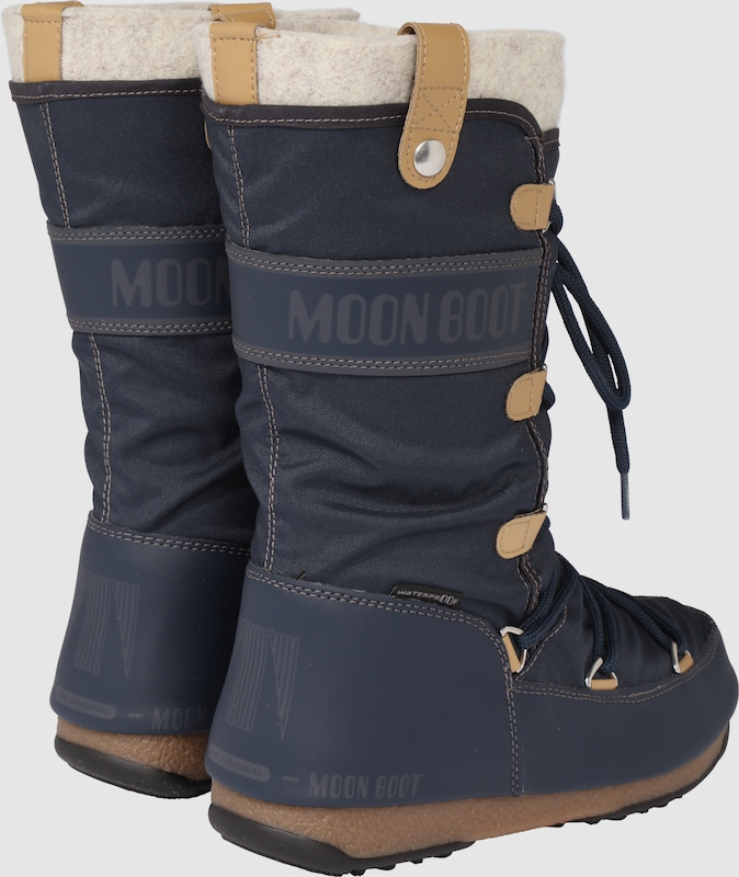 MOON BOOT | Stiefel 'Monaco felt' Schuhe Gut getragene getragene getragene Schuhe a6a687