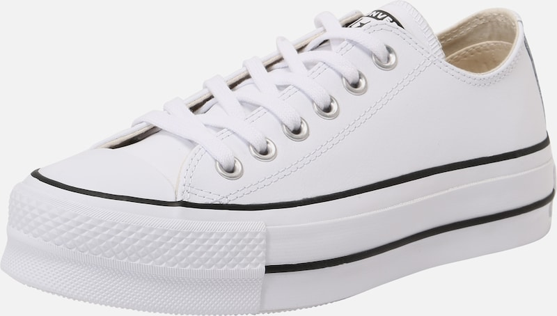 Sneaker low 'CHUCK TAYLOR ALL STAR LIFT CLEAN - OX' CONVERSE pe alb, Vizualizare produs