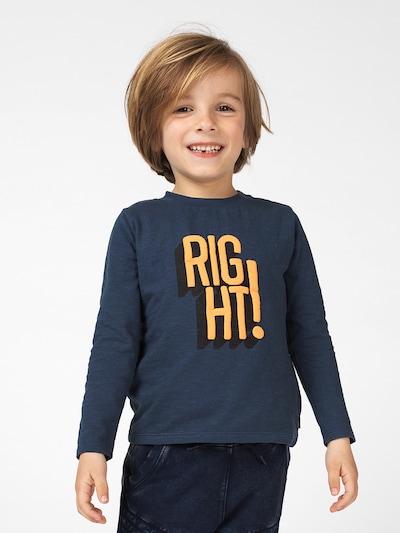 Noppies T-Shirt 'Benton' en bleu marine / orange: Vue de face