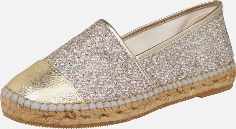 MACARENA Slipper 'Mar 128' in beige / gold, Produktansicht